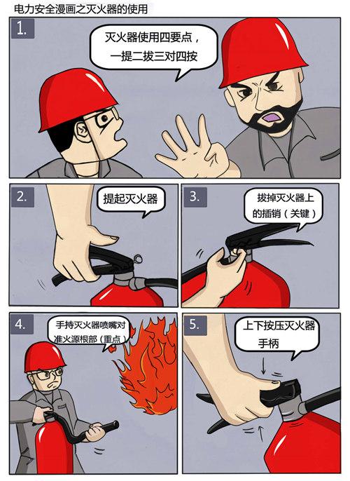 大山电力人绘制 漫画 诠释安全生产