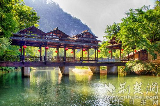 宜昌旅游年卡景点之一:车溪民俗旅游景区.网络图片