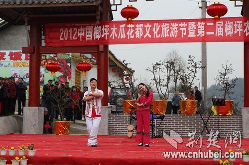 榔坪木瓜花都文化旅游节开幕