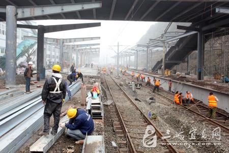 宜昌火车站加紧改造