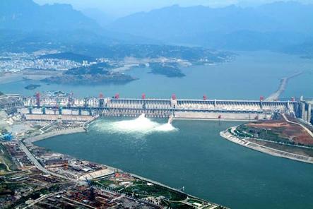 三峡大坝景区