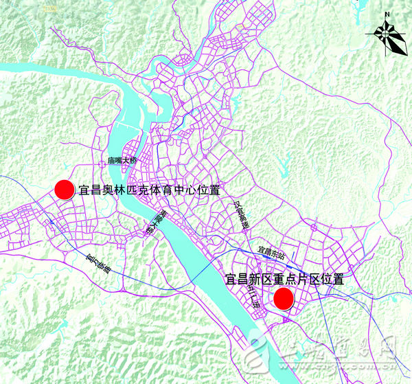 宜昌东站北扩最新规划_宜昌东站规划图片