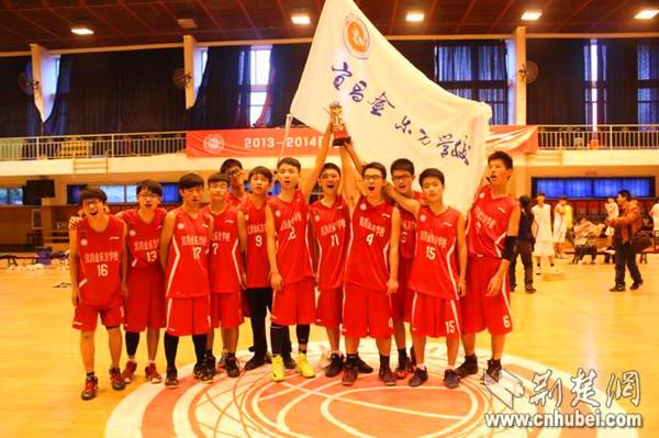 金东方初中喜获全国初高中篮球联赛湖北赛区亚
